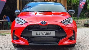 Magyarországon a teljesen új Toyota Yaris, gyorsan beleültünk