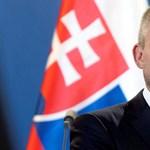 Nem tetszett a magyar felirat a szlovák miniszterelnöknek