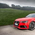 700 lovasra izmosították az Audi szuperkombiját