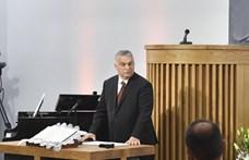 Templomromboló időket élünk Orbán Viktor szerint