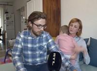 Nagyon ritka genetikai betegséggel küzd a 9 hónapos Bíborka, a szülők sorstársakat keresnek