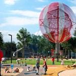 Ilyennek ígérik a Városliget új, óriási játszóterét – videó