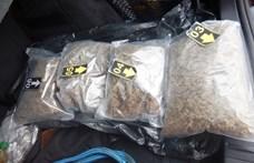 15 milliónyi droggal a csomagtartóban futott bele egy ellenőrzésbe a székesfehérvári díler - fotók