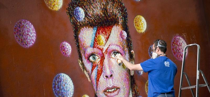 Ez a fiatalember kiköpött David Bowie