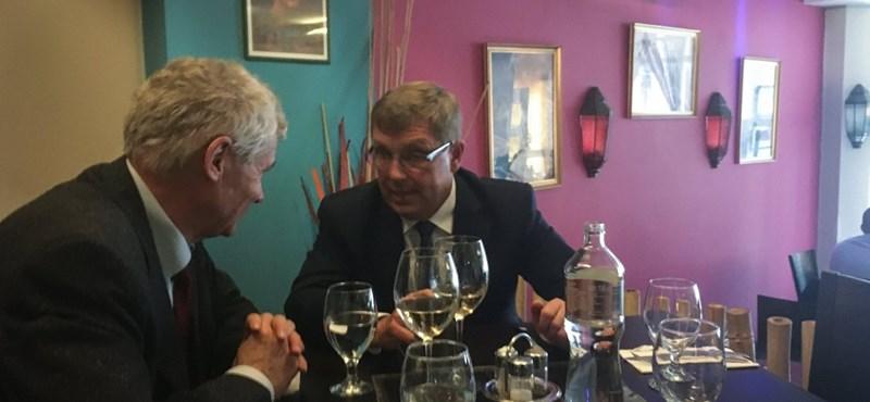 Matolcsy a saját feljelentései miatt ebédelt együtt Polt Péterrel
