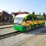 Fotó: Ilyen vonat még sose járt Királyrétnél