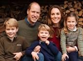 Aquí está la foto de Navidad del príncipe William