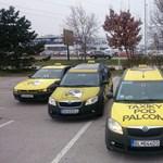 Budapestre jön az Uber-verő szlovák taxicég