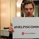 Átvette kitüntetését Benedict Cumberbatch Erzsébet királynőtől