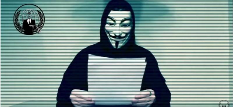 Közveszéllyel való fenyegetés miatt nyomoznak a magyar Anonymous ellen