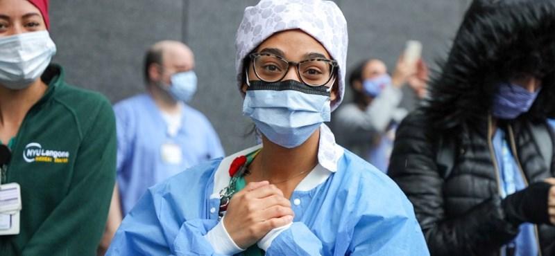 Közel 95 ezren haltak már meg koronavírusban az Egyesült Államokban