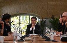 Az új ukrán elnök nemcsak sokat beszél, de cselekszik is