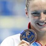 Hosszú Katinka bronzérmes 200 háton