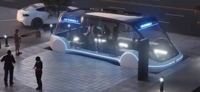 Elon Musknak megint van egy ötlete: 240 km/h-val szállítana embereket a városban a föld alatt