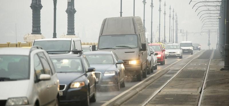 Rossz a levegő Budapesten, vasárnapig így is marad