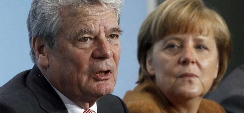 Joachim Gauck lett az új német államfő