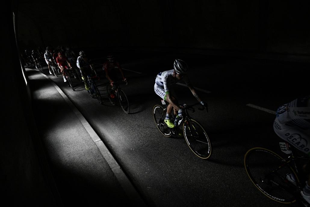 afp.17.07.20. - A francia Alpokban Briancon és Izoard között július 20-án. - Tour de France 2017