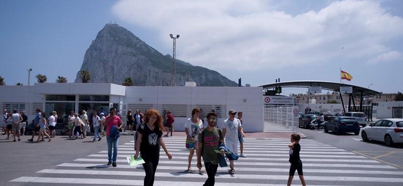 Spanyol hadihajó provokált Gibraltárban
