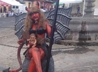 Szombaton ördögöt égetnek Guatemalában