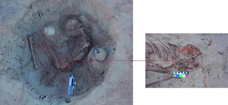 Várandós nő maradványait rejtő, 3500 éves ókori sírt tártak fel Egyiptomban
