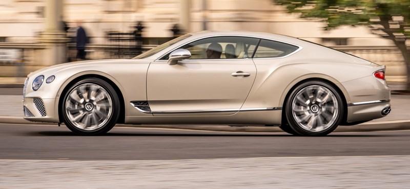 Az ultraluxus kategóriát képviseli a Bentley Continental GT Mulliner Coupé