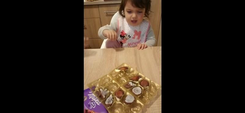 Most épp egy brokkolit majszoló pécsi kislány videójáért őrül meg a Facebook és a YouTube