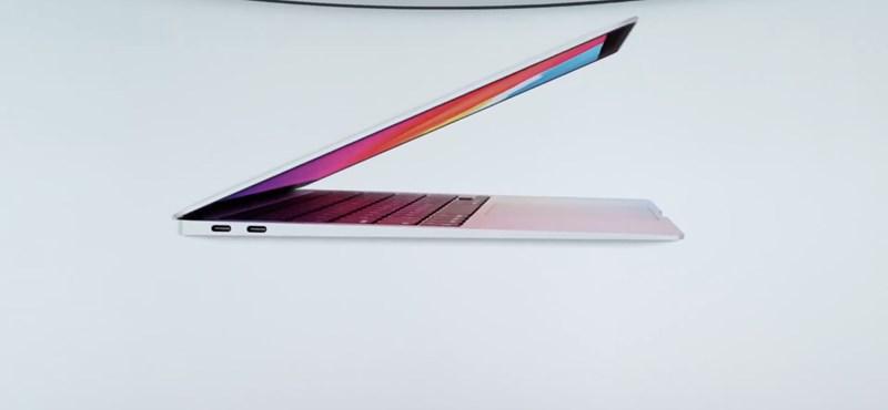 Itt az Apple nagy bejelentése: két laptop és egy Mac Mini kapta meg a cég új saját processzorát
