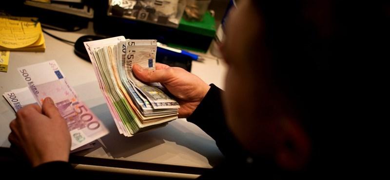 Újra 325 forint egy euró