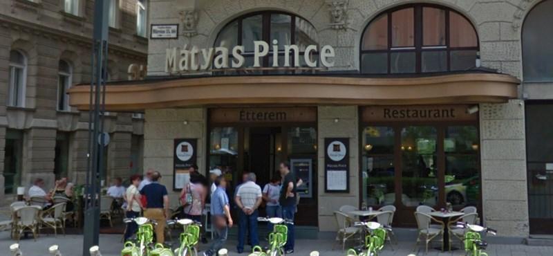 Bezárt a legendás Mátyás Pince