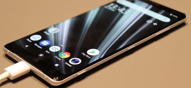 Kisebb? Nagyobb? Éppen ekkora az ön telefonja a Sony új csúcsmobilja mellett