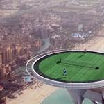 Ilyen a világ legmagasabban fekvő teniszpályája