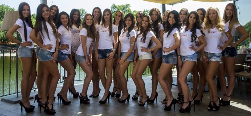 Fotó: Ma kiválasztják a legszebbet ezek közül a lányok közül