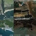 Megdöbbentő műholdképek a Japán földrengés következményeiről a Google Earth-ön