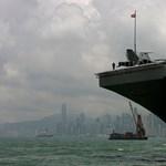 Amerikai anyahajót akartak meghekkelni a kínaiak