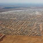 Légifotó: megdöbbentő felvétel egy szír menekülttáborról
