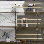 KSH: gyorsult az építőipar visszaesése
