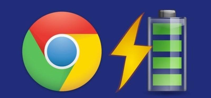 75 perccel nőhet a laptopja üzemideje, ha frissíti a Chrome böngészőt