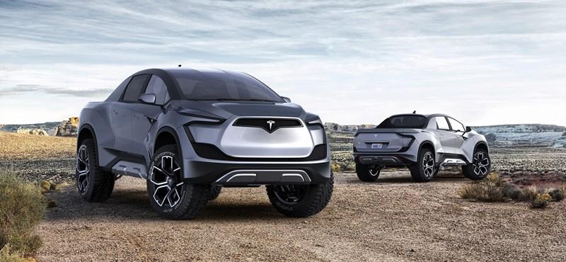 Olcsónak és futurisztikusnak ígérik a Tesla kisteherautóját