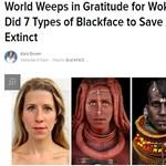 Durván földbe döngölik a neten a magyar nőt, aki afrikaivá photoshopolta magát