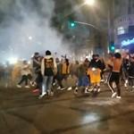 Könnygázzal oszlatta a rendőrség a Lakers bajnoki címét ünneplőket