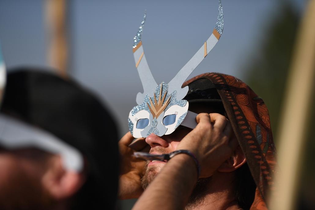 afp.17.08.21. - Napfogyatkozás az egyesült államokban - Ocho National Park