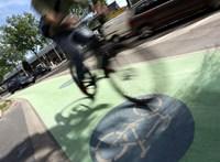 Bécsben a biciklisek negyede télen sem teszi le a kerékpárt
