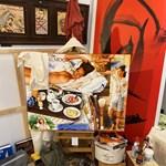 Vidám, lendületes színek a Vigadóban: Anton Molnár kiállítása