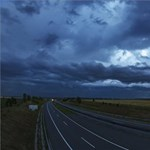 A horvátoknál is gondot okoz a vihar, 270 kilométer per órás szelet mértek
