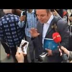 Fideszesek dobták fel az Együtt tüntetését, így indult be a sípkoncert – videó