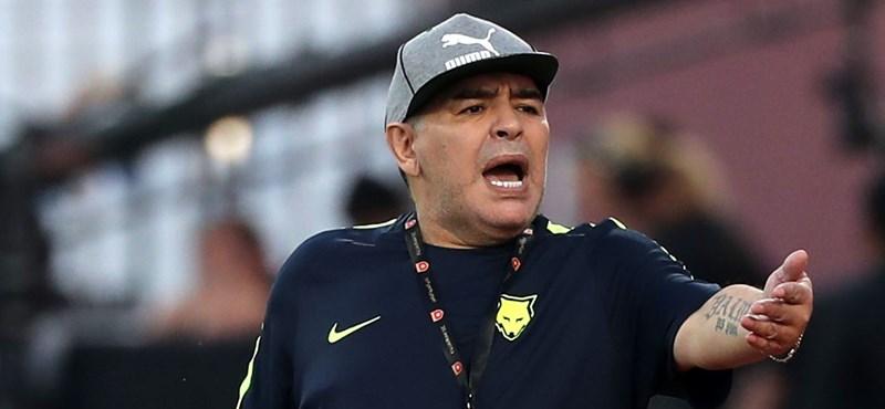 Szavazzon: most szenvedett jobban Maradona, vagy a németek elleni 0-4-en?
