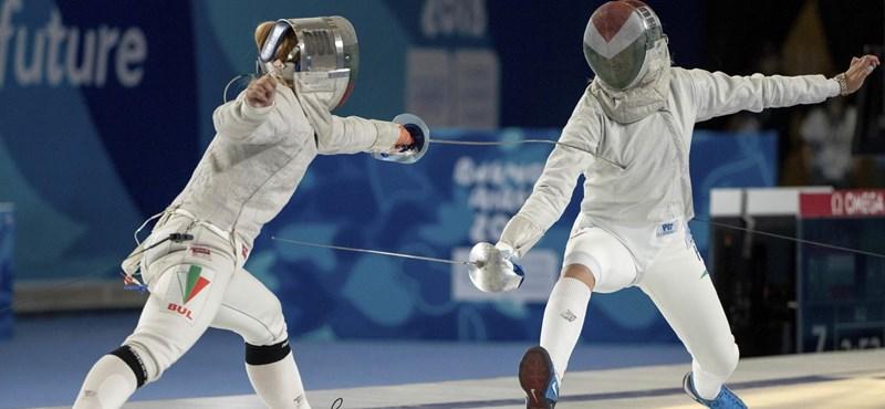 Újabb arany a magyar vívóknak az ifjúsági olimpián