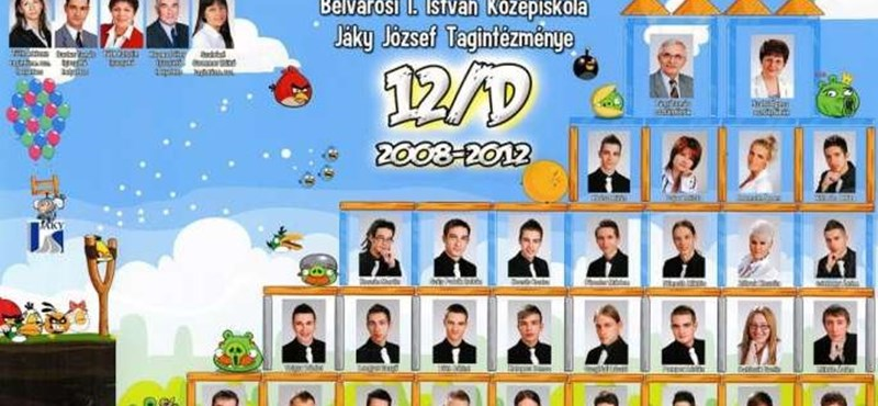 Képek: ez az új trend, az Angry Birds uralja az idei tablódivatot