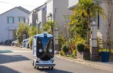 Már Tokió utcáit járja a Panasonic csomagszállító robotja