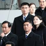 Megérkezett Kim Dzsong Un húga az olimpiára
